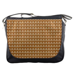Gingerbread Christmas Messenger Bag