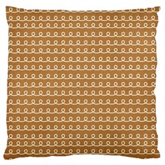 Gingerbread Christmas Large Cushion Case (One Side)