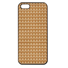 Gingerbread Christmas Apple iPhone 5 Seamless Case (Black)