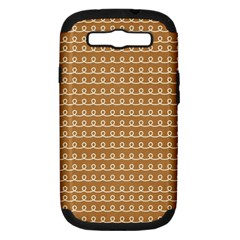 Gingerbread Christmas Samsung Galaxy S III Hardshell Case (PC+Silicone)
