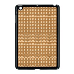 Gingerbread Christmas Apple iPad Mini Case (Black)