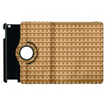 Gingerbread Christmas Apple iPad 3/4 Flip 360 Case Front