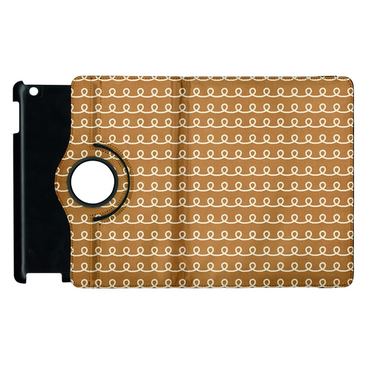 Gingerbread Christmas Apple iPad 3/4 Flip 360 Case