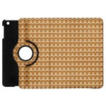 Gingerbread Christmas Apple iPad Mini Flip 360 Case Front
