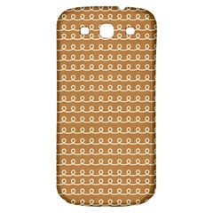 Gingerbread Christmas Samsung Galaxy S3 S III Classic Hardshell Back Case