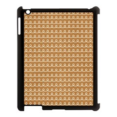 Gingerbread Christmas Apple iPad 3/4 Case (Black)