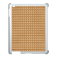 Gingerbread Christmas Apple iPad 3/4 Case (White)