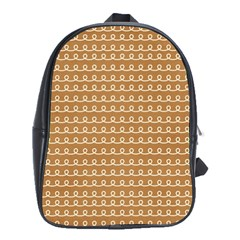 Gingerbread Christmas School Bag (XL)