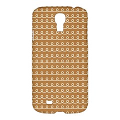 Gingerbread Christmas Samsung Galaxy S4 I9500/I9505 Hardshell Case