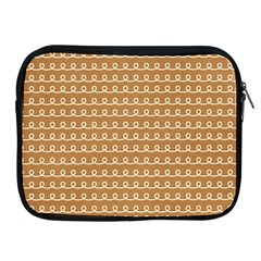 Gingerbread Christmas Apple iPad 2/3/4 Zipper Cases