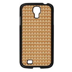 Gingerbread Christmas Samsung Galaxy S4 I9500/ I9505 Case (Black)