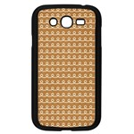 Gingerbread Christmas Samsung Galaxy Grand DUOS I9082 Case (Black) Front