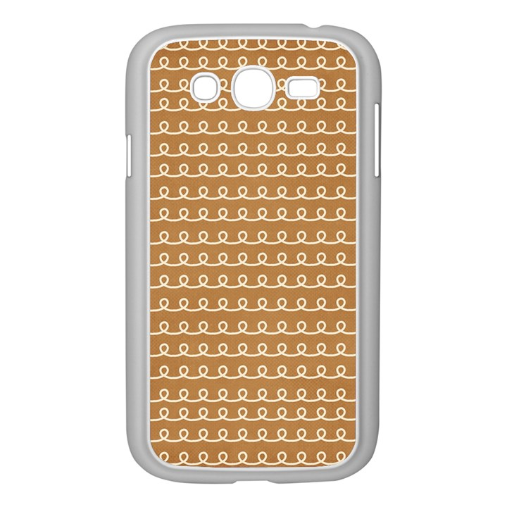 Gingerbread Christmas Samsung Galaxy Grand DUOS I9082 Case (White)