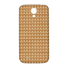 Gingerbread Christmas Samsung Galaxy S4 I9500/I9505  Hardshell Back Case