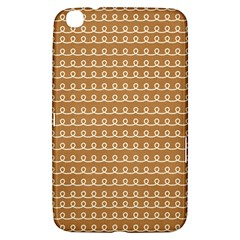 Gingerbread Christmas Samsung Galaxy Tab 3 (8 ) T3100 Hardshell Case