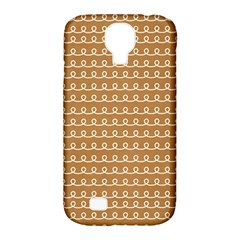 Gingerbread Christmas Samsung Galaxy S4 Classic Hardshell Case (PC+Silicone)
