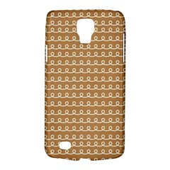 Gingerbread Christmas Samsung Galaxy S4 Active (I9295) Hardshell Case