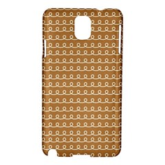 Gingerbread Christmas Samsung Galaxy Note 3 N9005 Hardshell Case