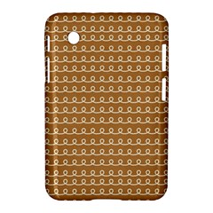 Gingerbread Christmas Samsung Galaxy Tab 2 (7 ) P3100 Hardshell Case