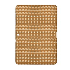 Gingerbread Christmas Samsung Galaxy Tab 2 (10.1 ) P5100 Hardshell Case