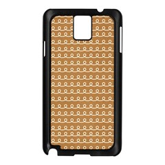 Gingerbread Christmas Samsung Galaxy Note 3 N9005 Case (Black)