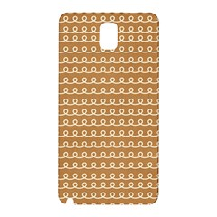 Gingerbread Christmas Samsung Galaxy Note 3 N9005 Hardshell Back Case