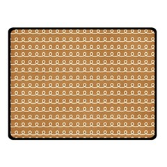 Gingerbread Christmas Double Sided Fleece Blanket (Small)