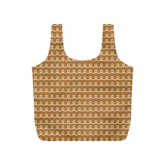 Gingerbread Christmas Full Print Recycle Bag (S)
