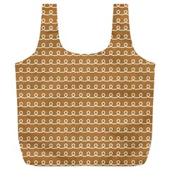 Gingerbread Christmas Full Print Recycle Bag (XL)