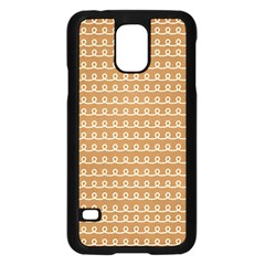 Gingerbread Christmas Samsung Galaxy S5 Case (Black)