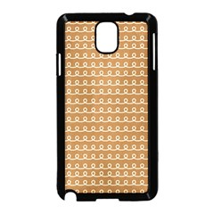 Gingerbread Christmas Samsung Galaxy Note 3 Neo Hardshell Case (Black)