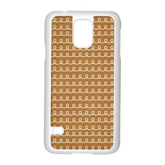 Gingerbread Christmas Samsung Galaxy S5 Case (White)