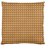 Gingerbread Christmas Standard Flano Cushion Case (Two Sides) Back
