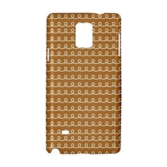 Gingerbread Christmas Samsung Galaxy Note 4 Hardshell Case
