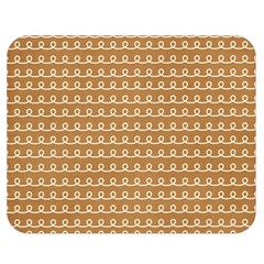Gingerbread Christmas Double Sided Flano Blanket (Medium)