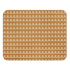 Gingerbread Christmas Double Sided Flano Blanket (Large)
