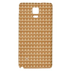 Gingerbread Christmas Samsung Note 4 Hardshell Back Case