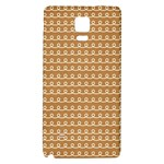 Gingerbread Christmas Samsung Note 4 Hardshell Back Case Front