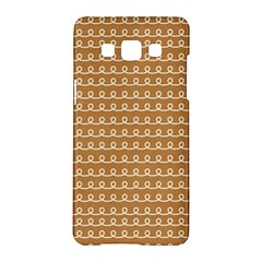 Gingerbread Christmas Samsung Galaxy A5 Hardshell Case