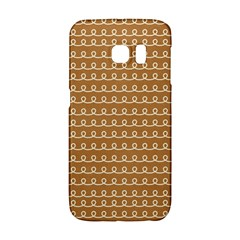 Gingerbread Christmas Samsung Galaxy S6 Edge Hardshell Case