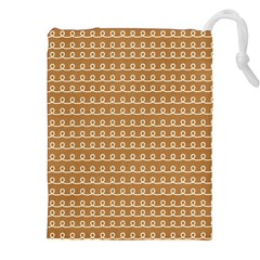 Gingerbread Christmas Drawstring Pouch (XXL)
