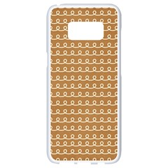 Gingerbread Christmas Samsung Galaxy S8 White Seamless Case