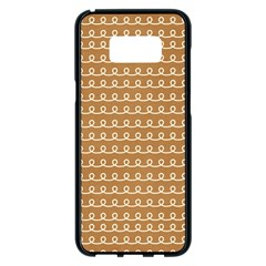 Gingerbread Christmas Samsung Galaxy S8 Plus Black Seamless Case