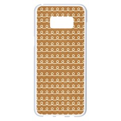 Gingerbread Christmas Samsung Galaxy S8 Plus White Seamless Case