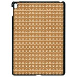 Gingerbread Christmas Apple iPad Pro 9.7   Black Seamless Case Front