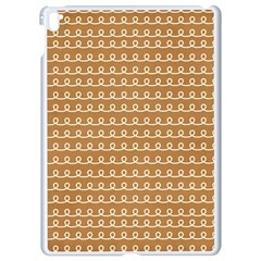 Gingerbread Christmas Apple iPad Pro 9.7   White Seamless Case