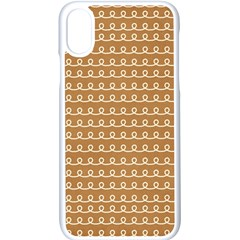 Gingerbread Christmas Apple Iphone X Seamless Case (white) by Alisyart