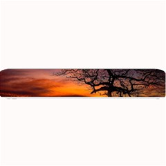 Lonely Tree Sunset Wallpaper Small Bar Mats
