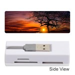 Lonely Tree Sunset Wallpaper Memory Card Reader (Stick) Front
