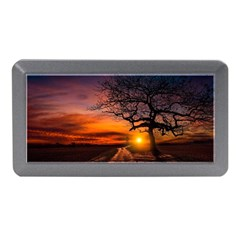Lonely Tree Sunset Wallpaper Memory Card Reader (Mini)